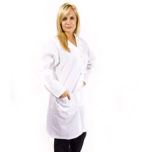 Basic Unisex White Lab Coat - Wholesale Scrub Sets - photo #41
